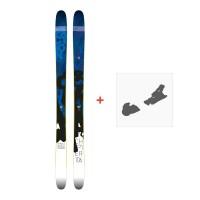 Ski Faction Chapter 106 2017 + Fixation de ski