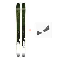 Ski Faction Chapter 116 2017 + Fixation de ski