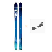 Ski Faction Nine5 2017 + Fixation de ski