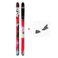 Ski Faction Soma 2017 + Fixation de ski