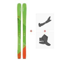 Ski Elan Ripstick 96 2018+ Alpine Touring Bindings + Climbing skinAD1BGU
