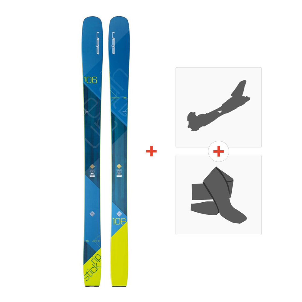 Online 2018Fixations randonnéePeau Ski sk Elan Ripstick 106 gbyf76