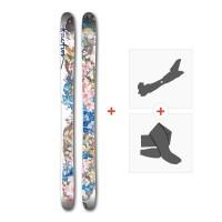 Ski Faction ProdigyW 2017 + Tourenbindung + Felle