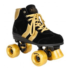 Rookie Rollerskates Authentic V2 Black/Gold 2017