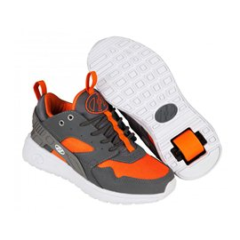 Heelys Chaussures Force Dark Grey/Grey/Orange 2015
