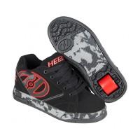 Heelys Chaussures Propel 2.0 Black/Red/Confetti 2017770807