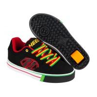 Heelys Chaussures Motion Plus Black/Reggae 2017