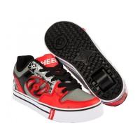 Heelys Chaussures Motion Plus Red/Black/Grey/Skulls 2017770533