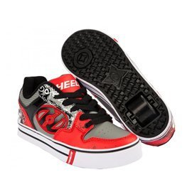 Heelys Chaussures Motion Plus Red/Black/Grey/Skulls 2017
