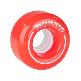 Rookie Quad Wheels All Star (4 Pack) Red 2017RKE-RSW-0100
