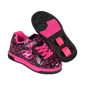 Heelys Chaussures X2 Dual Up Black/Hot Pink/Graphic 2017770801