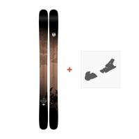 Ski K2 Shreditor 120- Pettitor 2017 + Fixation de ski