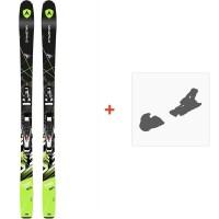 Ski Dynastar Powertrack 89 Fluid X+ SPX 12 FLUID B90 BLACK CHROME 2016