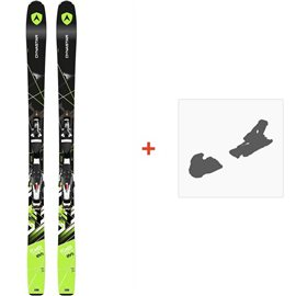 Ski Dynastar Powertrack 89 Fluid X+ SPX 12 FLUID B90 BLACK CHROME 2016