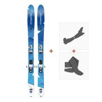 Ski Dynastar Cham 97 2015  + Fixations randonnée + Peau