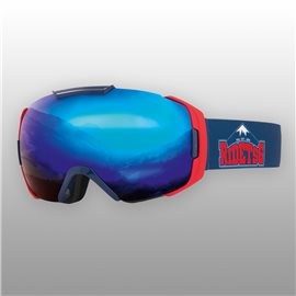 TSG Goggle One Team Chunk Blue Chrome 2017E19650-1250