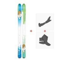 Ski K2 Talkback 96 2017 + Fixations randonnée + Peau
