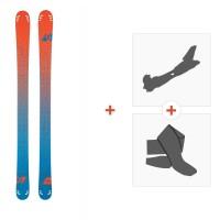 Ski Scott Cascade 110 2016 + Fixations randonnée + Peau