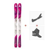 Ski Atomic Backland 85 W 2017 + Fixations randonnée et Peau