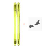 Ski Salomon QST 85 2018 + Fixation de skiL39144200