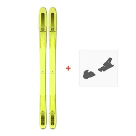 Ski Salomon QST 85 2018 + Fixation de skiL39144200