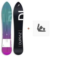 "Snowboard Dupraz D1 5'2\\"" 2017+ Ski bindings"