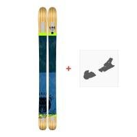 Ski Line Supernatural 100 2017 + Skibindungen