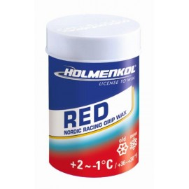 Holmenkol Grip Red 2017