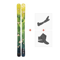 Ski Volkl Nunataq 2017 + Fixations randonnée + Peau115300