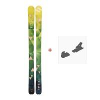 Ski Volkl Nunataq 2016 + Skibindungen