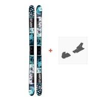 Ski Amplid Provoke 2017 + Ski bindungen