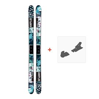 Ski Amplid Provoke 2017 + Fixation de skiA-160203