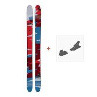 Ski Amplid Rockwell 2017 + Ski bindings