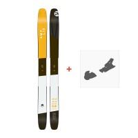 Ski Amplid The Hill Bill 2017 + Ski bindings