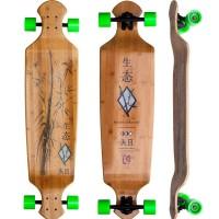 "Longboard Kahuna 43\\"" Drop Deck Bamboo 2016"