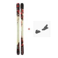 Ski Dynastar 6th Sense Superpipe + Fixation de skiDA9TG04