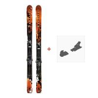 Ski Dynastar Legend Pro XXL 2010 + Fixation de ski
