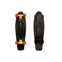 "Penny Skateboard Nickel 27\\"" Black Rasta / Yellow / Red"