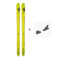 Ski Blizzard Zero G 85 2018 + Fixation de ski