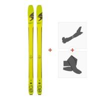 Ski Blizzard Zero G 85 2018 + Fixations randonnée + Peau8A614900.001
