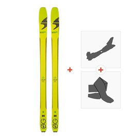 Ski Blizzard Zero G 85 2018 + Fixations randonnée + Peau