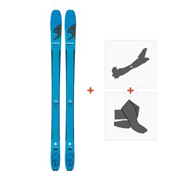 Ski Blizzard Zero G 85 W 2018 + Fixations randonnée + Peau