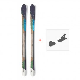 Ski Nordica Belle 84 2017 + Fixation de ski0A609600.001