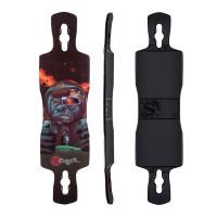 Original Freeride 38'' Mutant Space Ape Rocker Concave Deck Only 2017