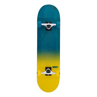 "Rocket Complete Skateboard Fade Series Blue/Yellow 8\\""RKT-COM-1506"