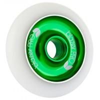 Blazer Pro Scooter Wheel Aluminium Core white Green 100mm 2017
