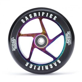 Sacrifice Wheels Delta Core (w/Bearings) Neochrome Black 2017
