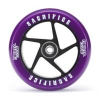 Sacrifice Wheels Delta Core (w/Bearings) Purple Black 110mm 2017