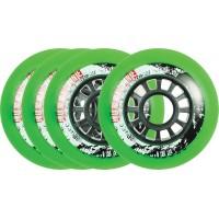 Powerslide Hurricane Green Wheel 4-pack 2017905193