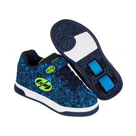Heelys Chaussures X2 Dual Up Navy/Blue/Print 2017